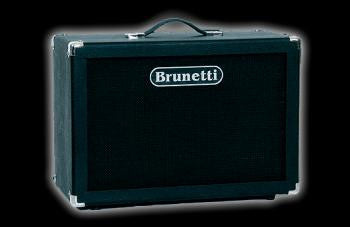 "Brunetti Cab: Mini 1x12"" Cabinet w/Celestion Vintage 30 Speaker"