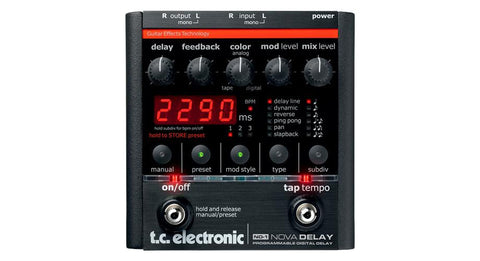 TC Electronic ND-1 Nova Delay Pedal
