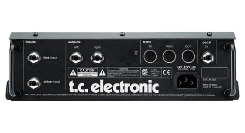 TC Electronic Nova System Multi-Effects Floor Unit