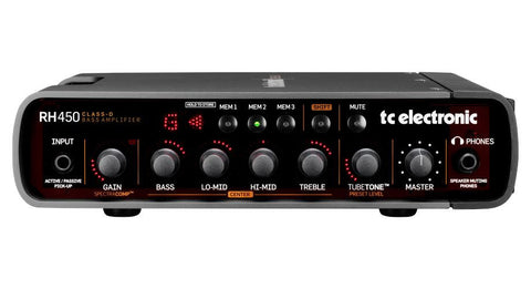 TC Electronic RH450 Bass Head - 450w
