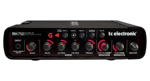 TC Electronic RH750 Bass Head - 750w