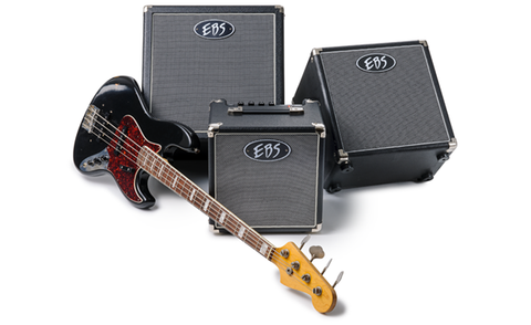 "EBS Session 60 Bass Combo - 1x12"" 60 Watt Tiltback Combo"