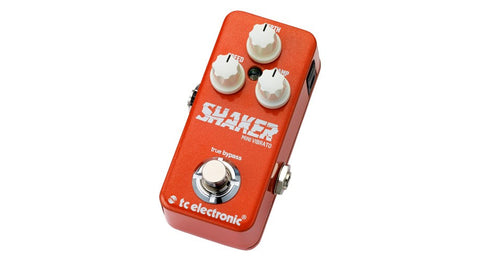 TC Electronic Shaker Mini Vibrato Pedal - TonePrint Enabled