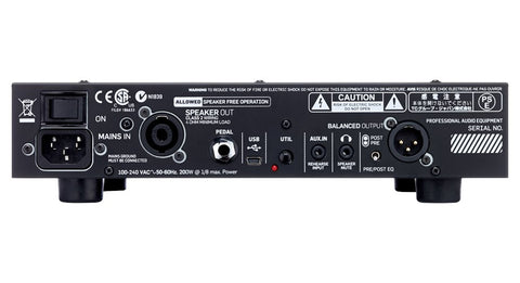 TC Electronic BH550 Toneprint Enabled Bass Head - 550w