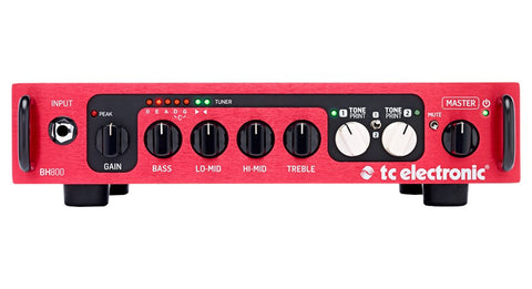 TC Electronic BH800 Toneprint Enabled Bass Head - 800w