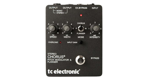 TC Electronic SCF Stereo Chorus Flanger Pedal