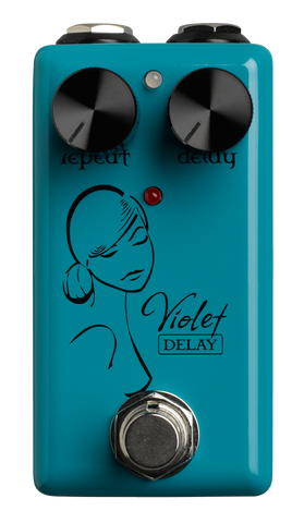 Red Witch Seven Sisters Series - Violet Delay Pedal