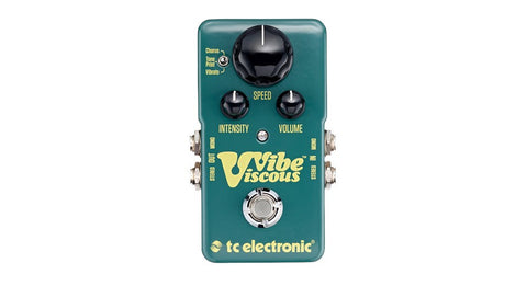 TC Electronic Viscous Vibe Pedal - TonePrint Enabled