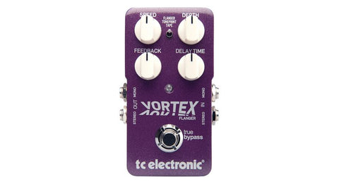 TC Electronic Vortex Flanger Pedal - TonePrint Enabled