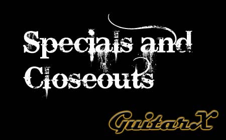 Specials and Closeouts
