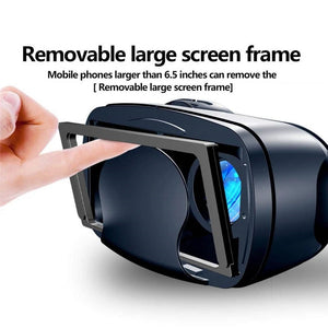 Full Screen Visual Wide-Angle VR Glasses