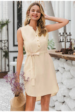 Load image into Gallery viewer, Sleeveless women spring dress