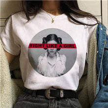 Load image into Gallery viewer, Girl Power T-Shirt | Feminist Women Casual Tees