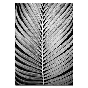 Black and White Wall Art Poster Palm Leaf Print Motivational Quotes Canvas Painting Scandinavian Style Wall Picture Decoration