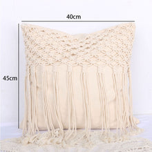 Load image into Gallery viewer, Macrame Hand-woven Thread Pillow Covers