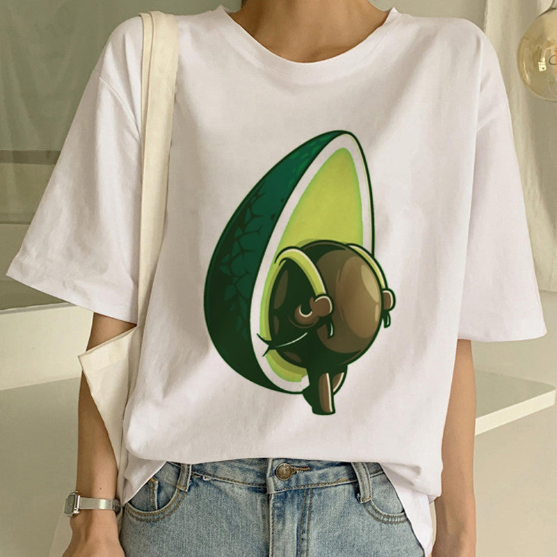 Avocado T-Shirt | Vegan Women Tees
