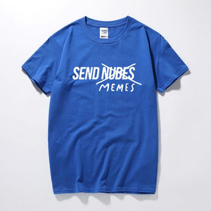 Send Memes Unisex T-Shirt | Street Casual Short Sleeve
