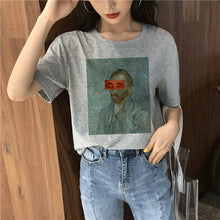 Load image into Gallery viewer, Van Gogh T-Shirt | Women Memes Tees