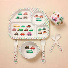 Load image into Gallery viewer, Kids Bamboo Dinner Set