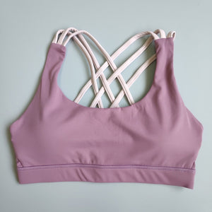 Support Strappy Sports Bra for Women