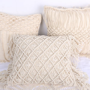 Macrame Hand-woven Thread Pillow Covers