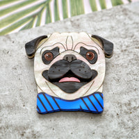 Biscuit the Pug