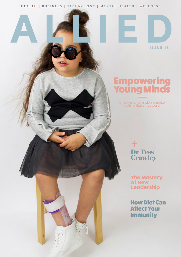 Allied Magazine features inc kid
