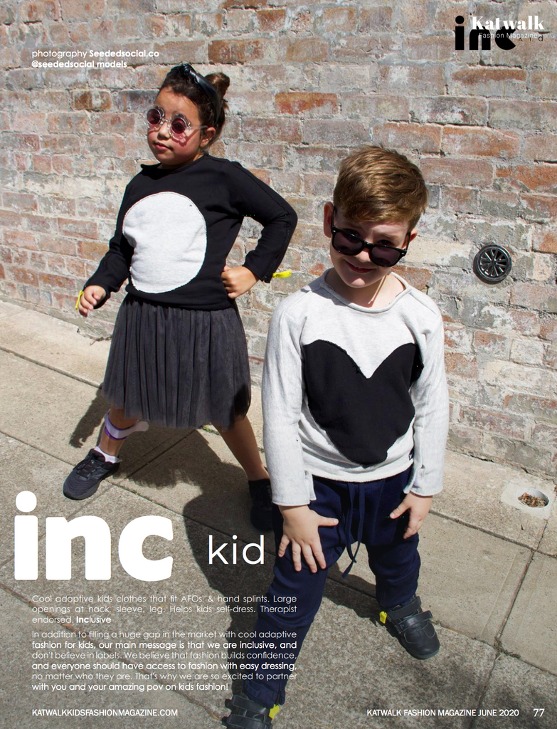 inc kid in Katwalk Kids Fashion Magazine