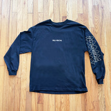 Load image into Gallery viewer, Long Sleeve - H.A.N.D. - Black