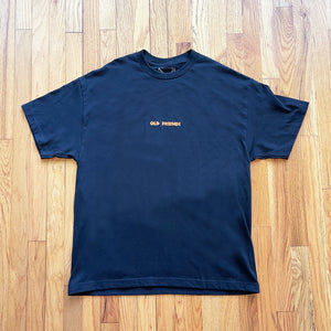 Short Sleeve - World on Fire - Black