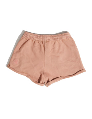 Sandy Chocolate Rolled Terry Shorts