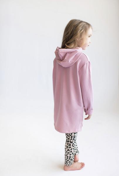 Tiny Button Apparel - Hoodie - Lilas Pink