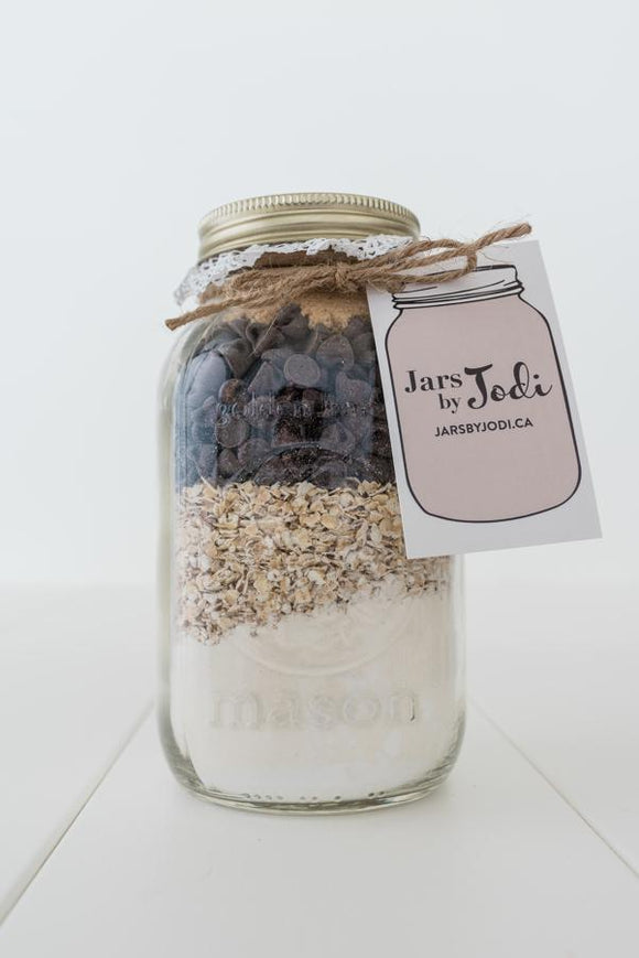 Jars By Jodi - Dairy Free Vegan Oatmeal Chocolate Chip