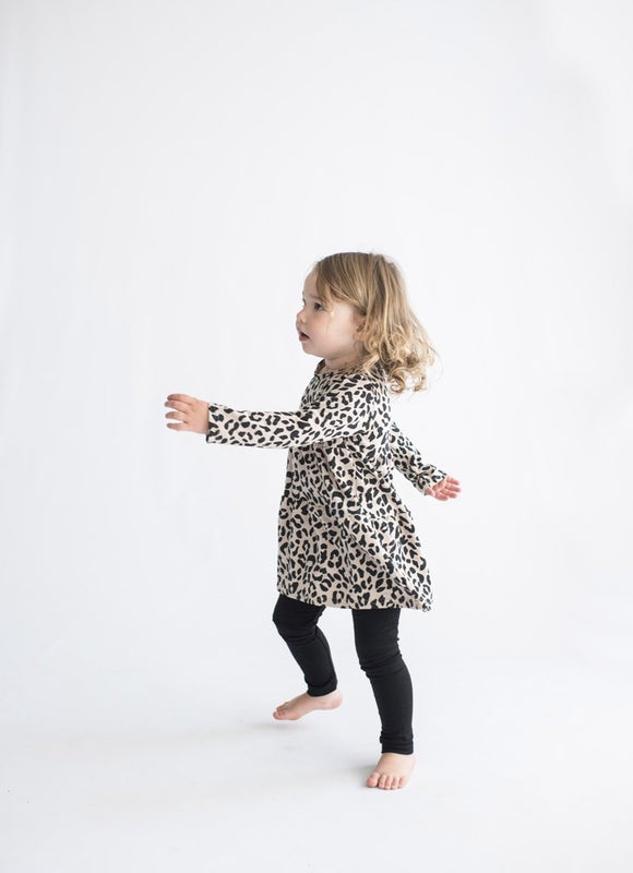 Tiny Button Apparel - Black Leggings