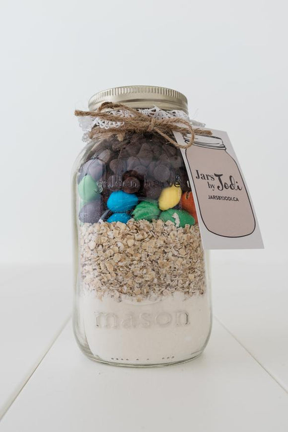 Jars By Jodi - Peanut M&M Cookies