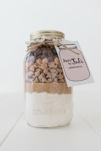 Jars By Jodi - PBCC (Peanut Butter Cookies with Sea Salt Caramel & Milk Chocolate)