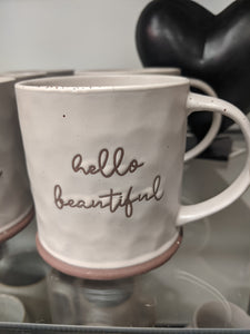 "Town & Country - ""Hello Beautiful"" Mug"