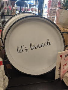Town & Country -  Let's Brunch Tray