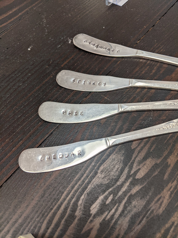 Teaspoon Memories - Butter Knife Set