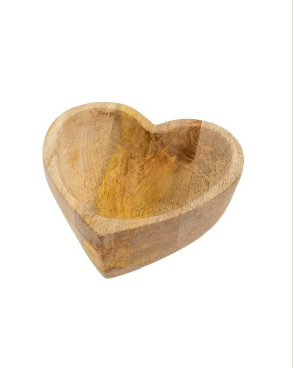 Town & Country -  Wood Heart Bowl