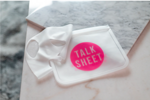 Talk Sheet Mask