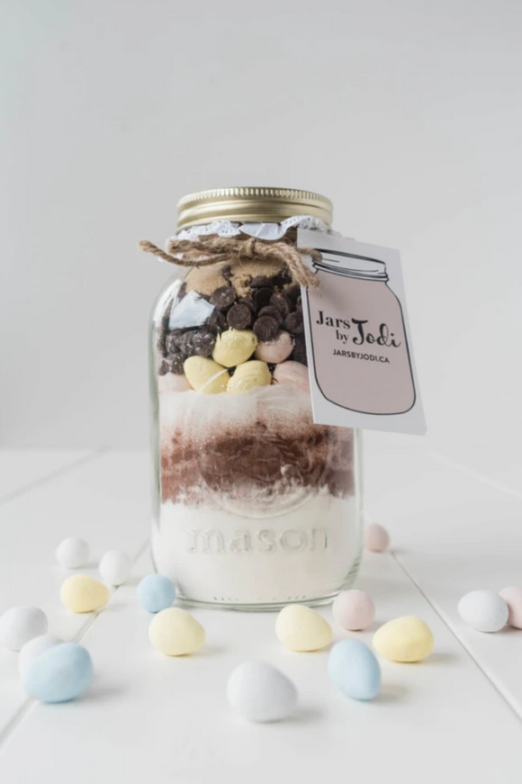 Jars By Jodi - Easter Mini Egg Brownies