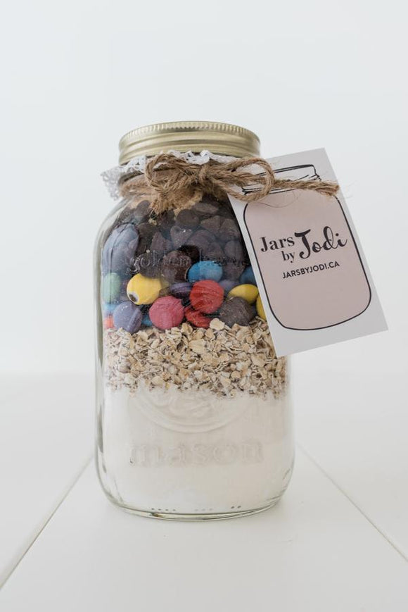Jars By Jodi - Smartie Cookies