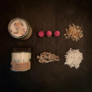 Little Fox Apothecary - Gem Stone Candles