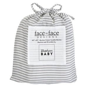 Face To Face Design -  Swaddle Blanket