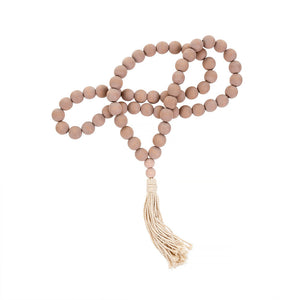 Town & Country - Large Prayer Beads With Tassels