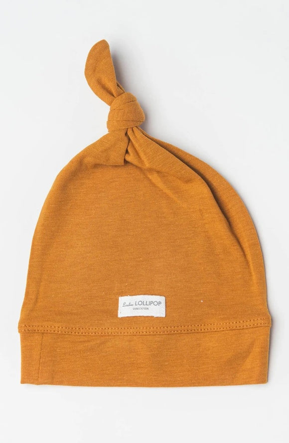 Loulou LOLLIPOP - Top Knot Baby Beanies