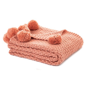 Town & Country - Coral Throw Blanket