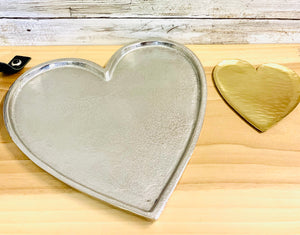 Town & Country -  Silver Heart Tray