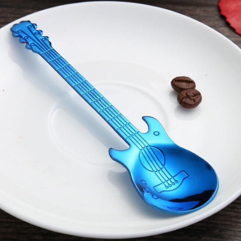 Stainless Steel Guitar Spoon - Great Gift For Musicians!